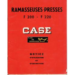 Case F200 F220 Notice Presse