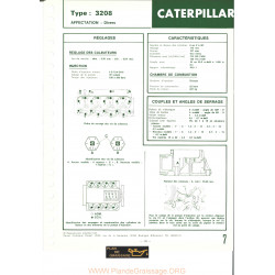 Caterpillar 3208 Moteur