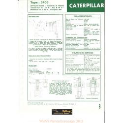 Caterpillar 3406 Moteur