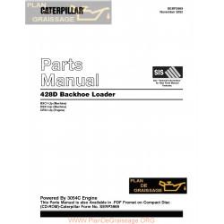 Caterpillar 428d Bxc1 Dsx1 Crs1