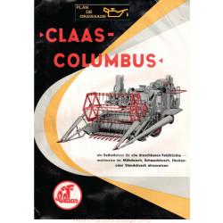 Claas Columbus Brochue1 Moissonneuses