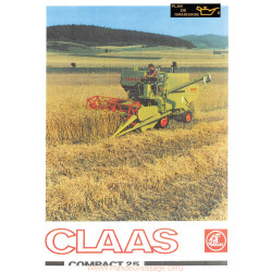 Claas Compact 25 Moissonneuses