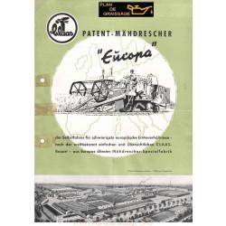 Claas Europa Brochue Moissonneuses