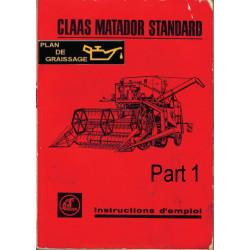 Claas Matador Standard N1 Moissonneuses
