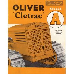 Cletrac A Brochure