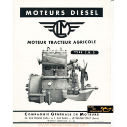 Clm Cr2 Moteur Agricole