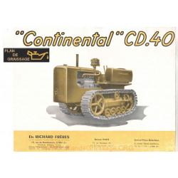 Continental Cd 40 Pub Chenillards