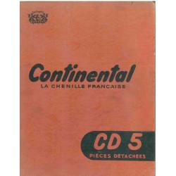 Continental Cd 5 Chenillards