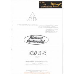 Continental Cd 6 Part1 Piece Rechange Chenillards