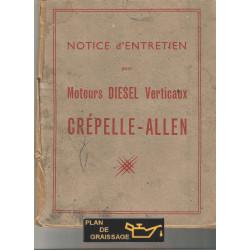 Crepelle Allen Notice Entretien 128cv Moteur