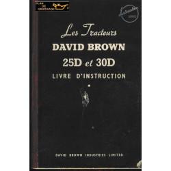 David Brown 25d 30d Livre Instruction