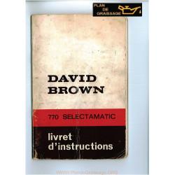 David Brown 770 Selectamatic