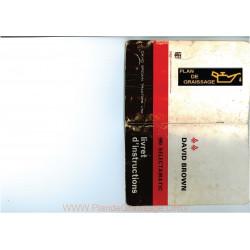 David Brown 990 Selectamatic