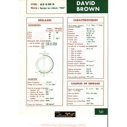 David Brown Ad4 30h Moteur