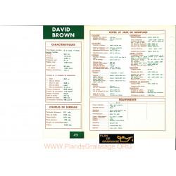 David Brown Ad6 Moteur