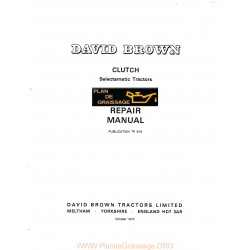 David Brown Embrayage
