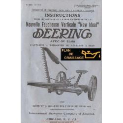 Deering New Ideal Moissonneuse