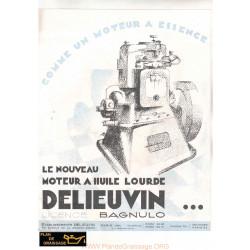 Delieuvin Bagnulo Moteur