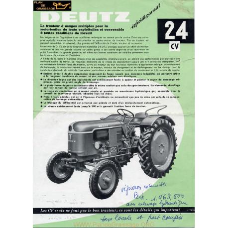Deutz 24 Cv Depliant