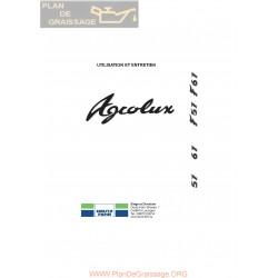 Deutz Agrolux 57 67 F57 F67 Utilisation Entretien