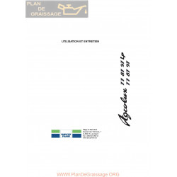 Deutz Agrolux 77 87 97 Lp 77 87 97 Uitlisation Entretien