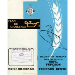 Ebro Fordson Outils