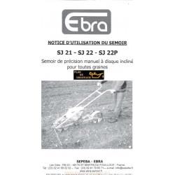 Ebro Sj 21 22 P Sepeba Semoir