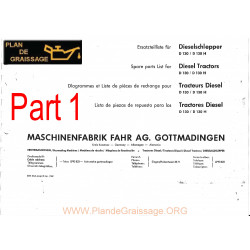 Fahr D 130 H Catalogue Part1