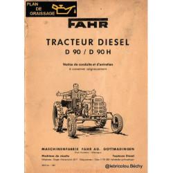 Fahr D 90 H Diesel Tracteur