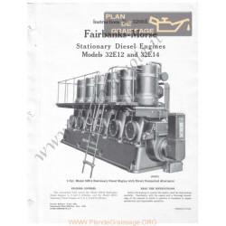 Farbanks Morse 32e12 32e14 Istruzioni