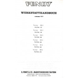 Fendt Farmer 102 103 104 105 108 S