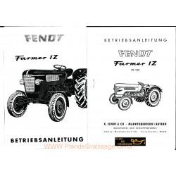 Fendt Farmer 1z Fl 131 Manuel