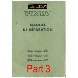 Fendt Farmer 2s 3s 4s Manuel Part3