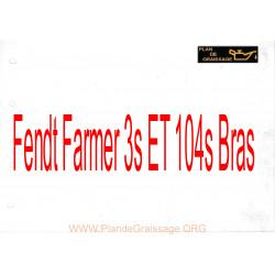 Fendt Farmer 3s Et 104s Bras