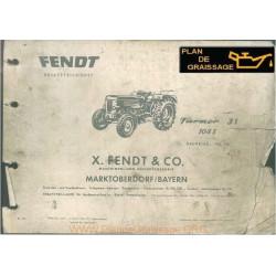 Fendt Farmer 3s Et 104s Moteur