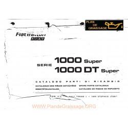 Fiatagri 1000 Super Dt Tracteur