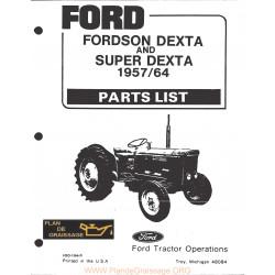 Fordson Dexta 1957 1964 Tracteur