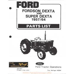 Fordson Dexta 1957 1964