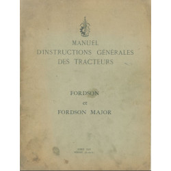Fordson Major Moteur