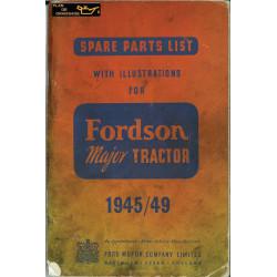 Fordson Major Pieces 1945 1949