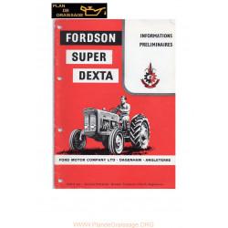Fordson Super Dexta Info