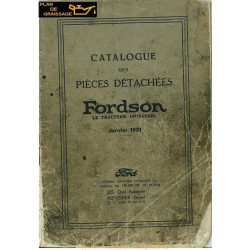 Fordson Tractor Pieces 1931