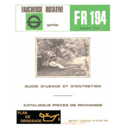 Garnier Fr 194 Notice Faucheuse