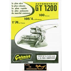 Garnier Toussaint 1200 Moissonneuses