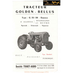 Golden Bellus G 25 28