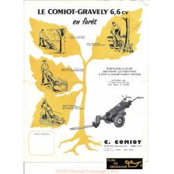 Gravely Comiot 6cv Motoculteurs