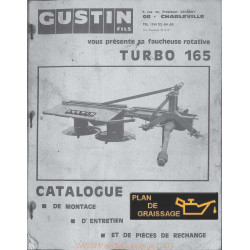 Gustin 165 Turbo Faucheuse