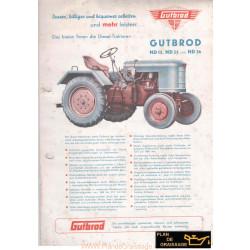 Gutbrod Nd15 Nd25 Nd36