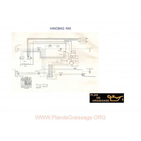 Hanomag R45 Schema Electrique
