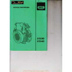 Hatz 2 G30 G40 Moteur